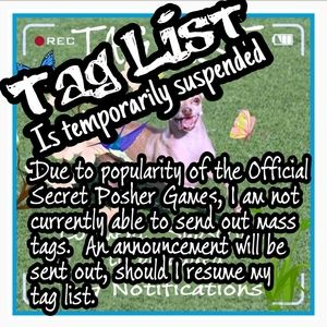 Tag List Currently Suspended