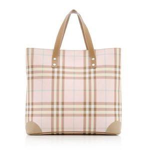 Burberry Handbags - Burberry Candy Check Tote Bag Cadogan