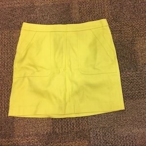 LOFT Dresses & Skirts - Loft neon yellow skirt