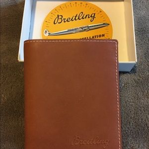 Breitling Other - Breitling tan wallet