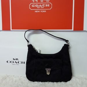 Coach Handbags - COACH Monogram Mini Handbag-.Authentic