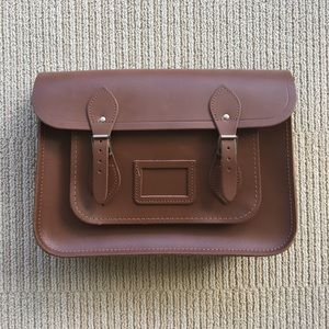 The Cambridge Satchel Company Handbags - Cambridge Satchel Company 13-inch Classic Cognac