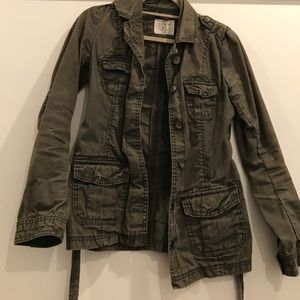 L.O.G.G by H&M Jackets & Blazers - Like New army style jacket