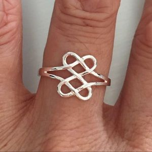 Jewelry - Sterling Silver Double Celtic Ring