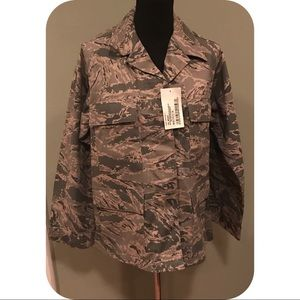 Camo Jackets & Blazers - New Military Issue Camo Jacket Sz 14 short