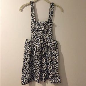 Urban Outfitters Other - Urban Outfitters Flower Patterned Overall Dress