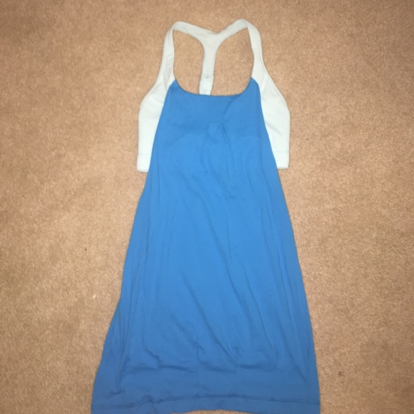 68 off lululemon athletica tops lululemon tank top with for Shirts with built in sports bra