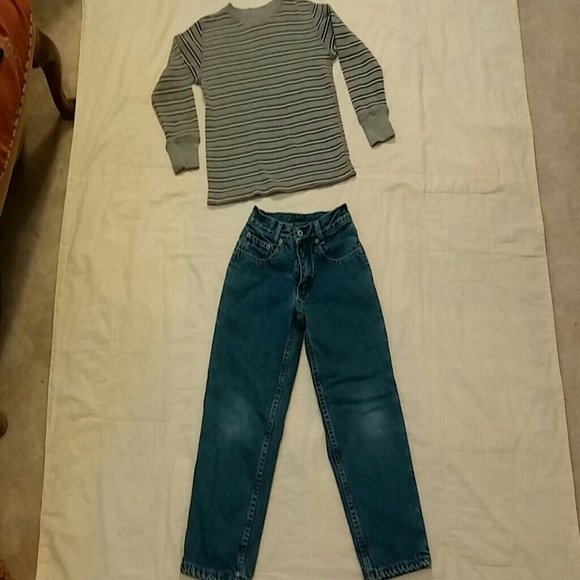 63 Off Gap Other Boys Gap Flannel Lined Pants Jeans