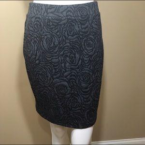 LOFT Dresses & Skirts - Pencil skirt with floral design