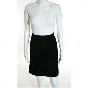 Marina Rinaldi Dresses & Skirts - MARINA RINALDI BLACK WOOL PENCIL SKIRT