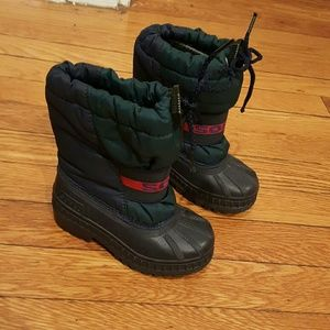 Sorel Other - SOREL BOOTS SIZE 8 green blue red snowboots rain