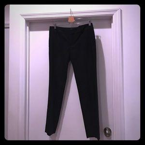 Chic Zara Slim Leg Black Dress Pants Sz 8 NEW