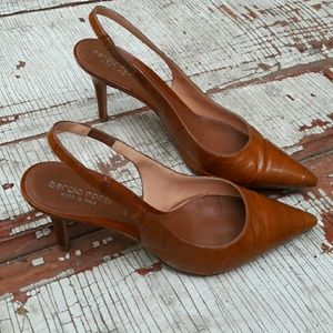 Sergio Rossi Shoes - Sergio Rossi Brown slingbacks