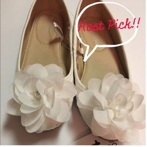 cat & jack Other - NWT white flats