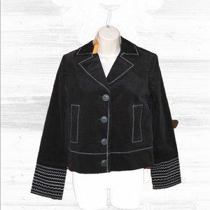 Cynthia Steffe Jackets & Blazers - 🆕 Cynthia Steffe Embroidered Corduroy Jacket-S