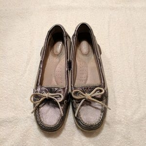 Sperry Shoes - Sperry Gray Top Siders/Boat Shoes