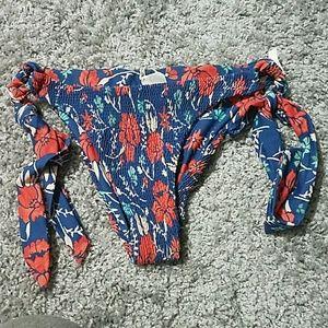 Tori Praver Swimwear Other - NEW!!!  Tori Praver Flowery Bikini Bottom