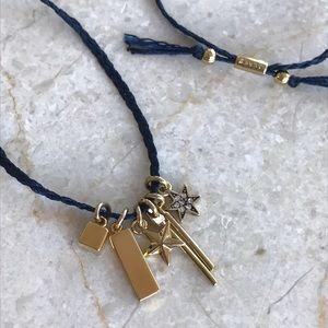 J. Crew Jewelry - J. Crew Gold Star Charm Braided Necklace