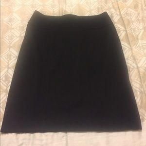 Loft Black Pencil Skirt - Size 2