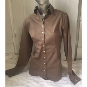 "Anne Fontaine Tops - ANNE FONTAINE ""Netty"" PRINCESS-CUT BLOUSE-NWOT-US8"