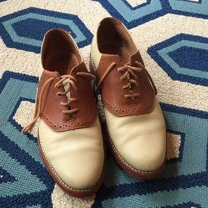 Bass Shoes - GH BASS leather saddle shoes 8.5 preppy vintage