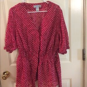 George Simonton Dresses & Skirts - Beautiful red blouse!