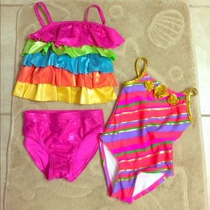 Flapdoodles Other - Flapdoodles size 2T toddler bathing suits