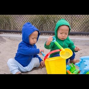 Primary Other - Primary 3-6 month hoodies EUC