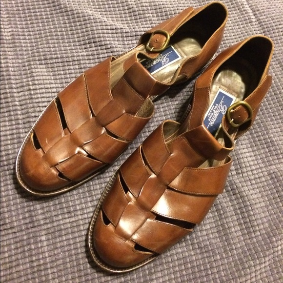 e36df7ee4330 Cole Haan Other - Cole Haan Bragano Woven Leather Fishermans Sandals