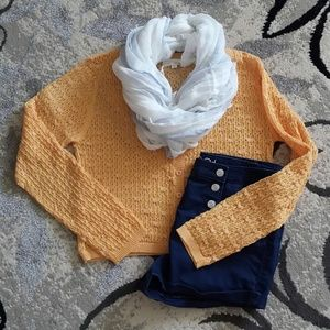 Onia Sweaters - Super cute....knit style cardigan...Like New!!