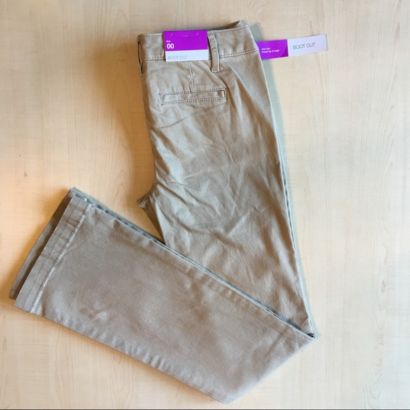 Mossimo bootcut khakis