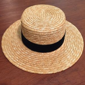 Lack of Color Accessories - Lack of Color Spencer Boater Straw Hat