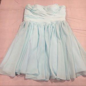 Dresses & Skirts - Tiffany Blue Sweetheart Strapless Dress
