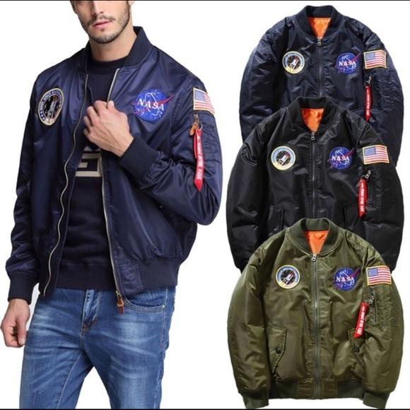55457aee0 US NASA MA1 Flight Bomber Jacket