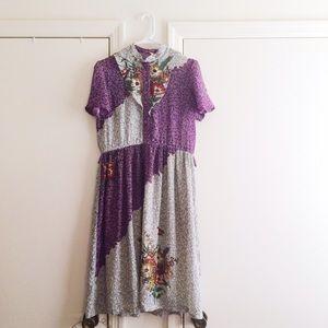 Vintage Dresses & Skirts - Vintage Floral Garden Dress