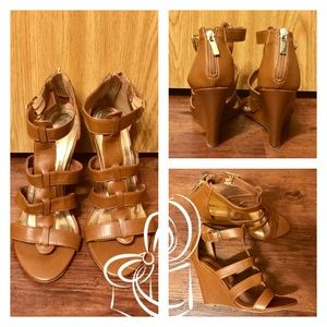 2bamboo Shoes - Super Stylish Bamboo Wedge Strappy Sandals