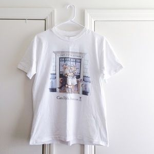 Cats Fifth Avenue Vintage Tee
