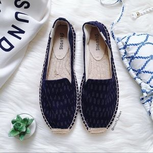 Soludos 'Smoking' espadrille platform slipper