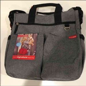 Skip Hop Handbags - Skip Hop Duo Signature Diaper Bag