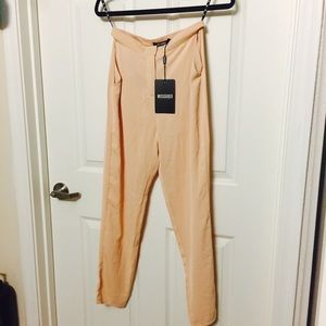 Missguided Pants - Peach nude pants trousers