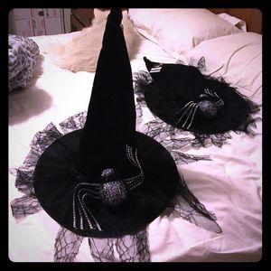 jcpenney Accessories - Halloween Black Spider Witches Hat