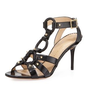 Charlotte Olympia Shoes - Charlotte Olympia Allure studded harness sandal