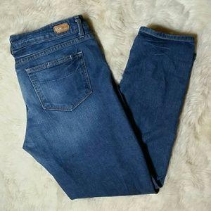 Paige Jeans Denim - Paige Jeans Denim Crop Ankle Skinny Jeans Size 31
