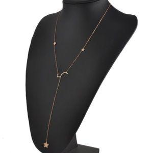Constellations star moon gypsy summer necklace