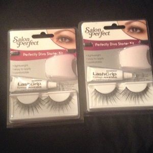 Salon perfect perfect brow powder stencil combo from for Salon 615 lashes
