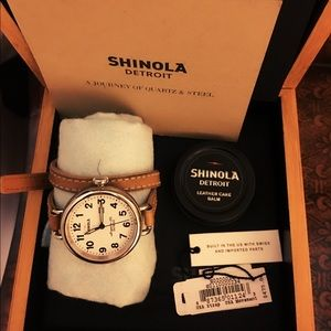 """Shinola Other - 💯authentic Shinola """"birdy"""" wrap around watch"""