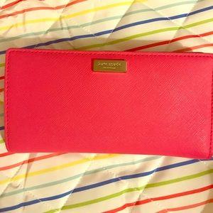 kate spade Handbags - Pink Kate Spade Wallet
