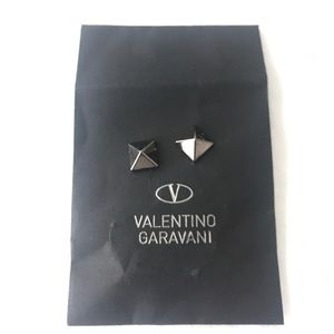 Valentino Shoes - Valentino Black Replacement Studs