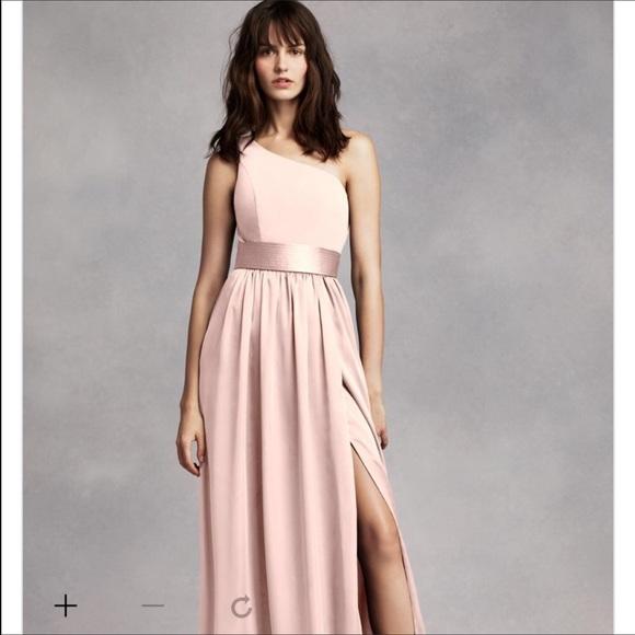 Vera wang bridesmaid dresses blush