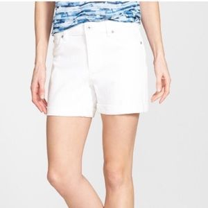 Two by Vince Camuto Pants - TWO BY VINCE CAMUTO White Denim Shorts